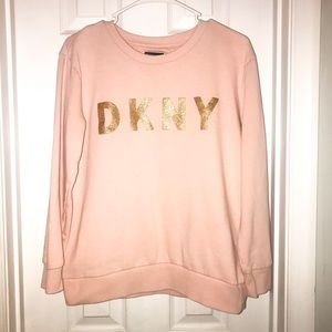 DKNY 🌟 NWOT Pink Everywhere Sweatshirt